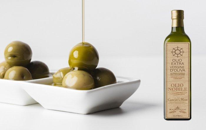 olio d'oliva amaro e piccante