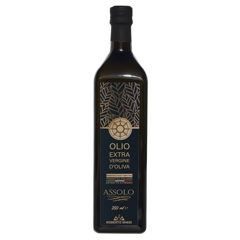 olio extravergine di oliva assolo 250 ml