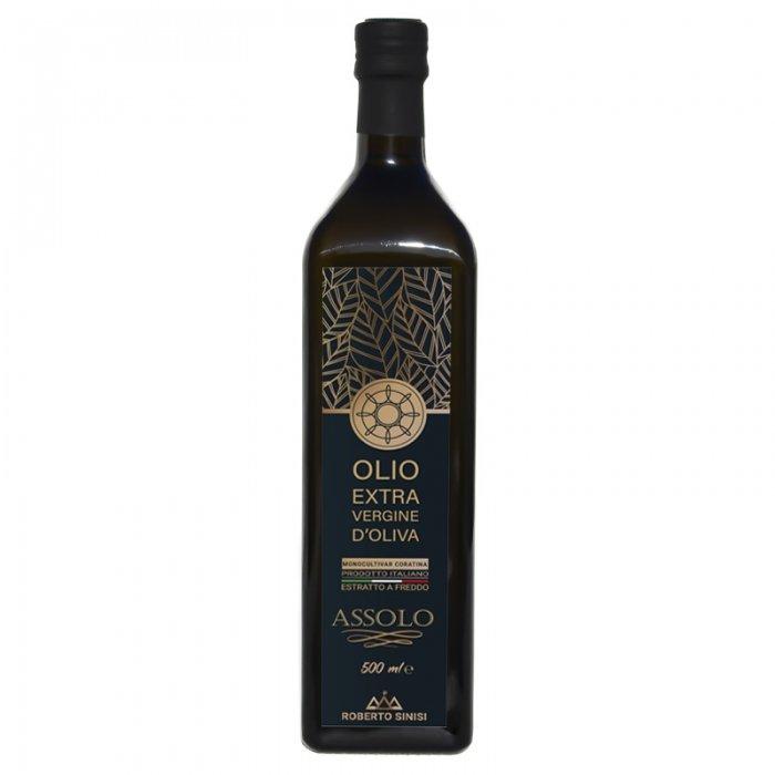 olio extravergine di oliva Assolo 500 ml