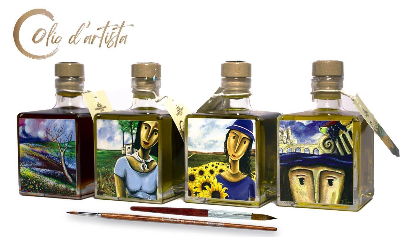 olio d'artista e articoltura