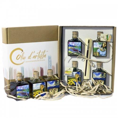cofanetto olio aromatizzato