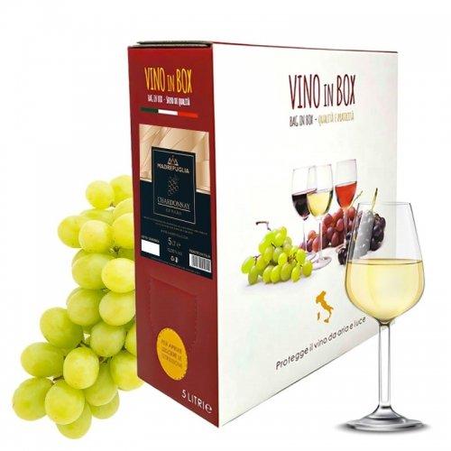 vino bianco chardonnai igt