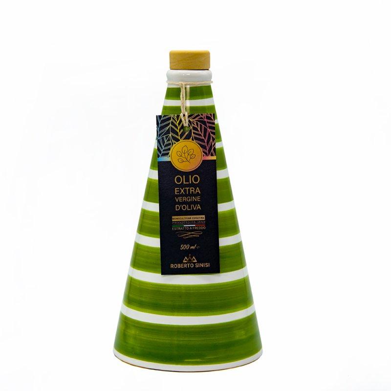 orcio in ceramica verde grand color